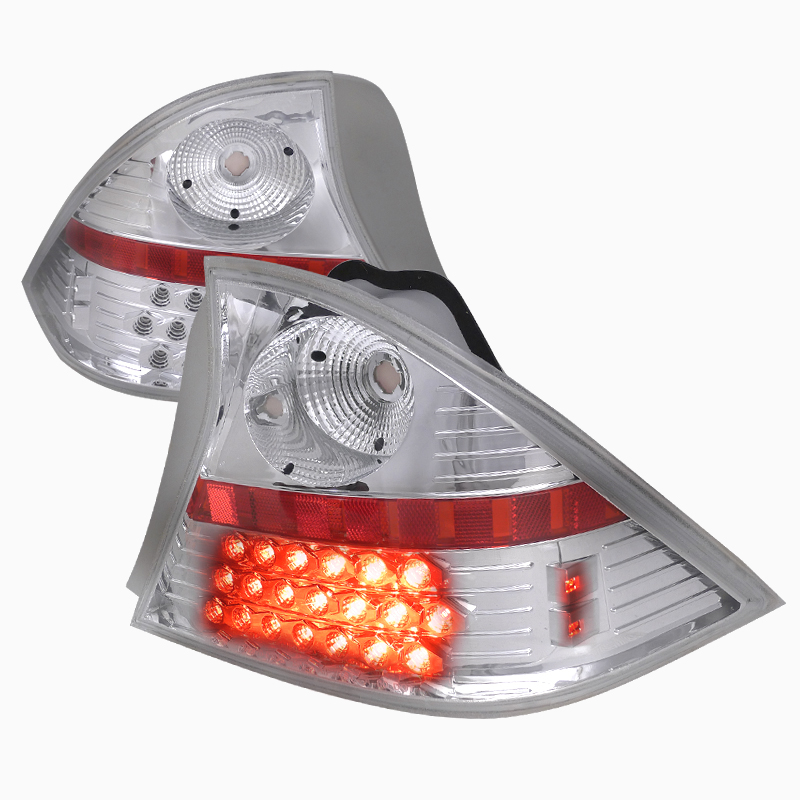 2009 Scion Xd Exterior: PRO Design Clear LED Tail Lights For 2009 Scion TC