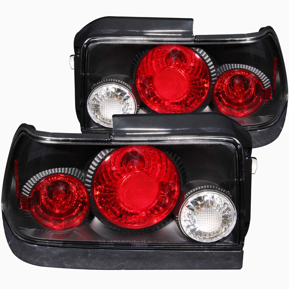 2001 Toyota Corolla Tail Lights: CG Black Tail Lights For 1995 Toyota Corolla