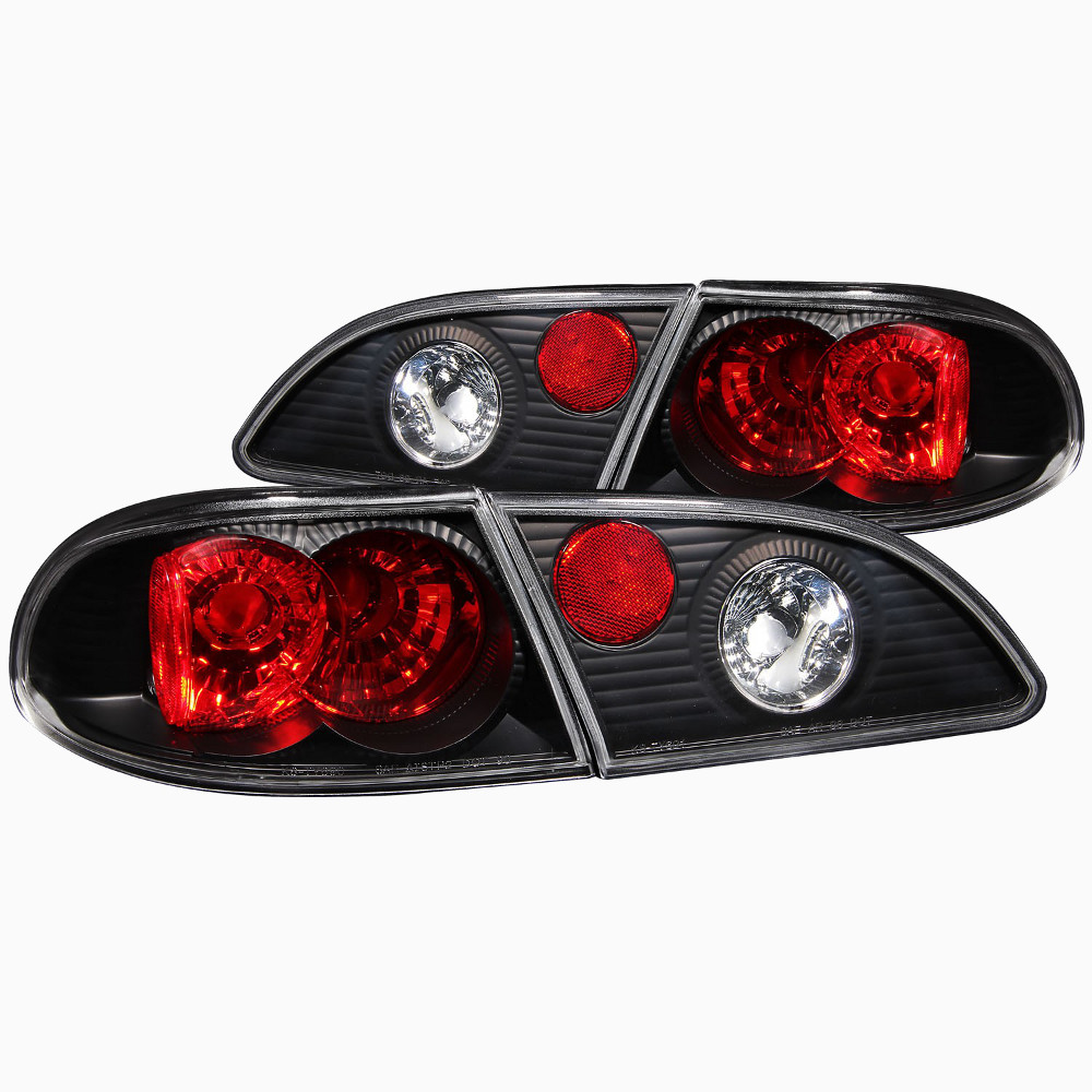 2001 Toyota Corolla Tail Lights: CG Black Tail Lights For 2000 Toyota Corolla