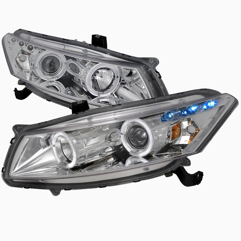Pro Design Clear Headlights For 2009 Honda Accord