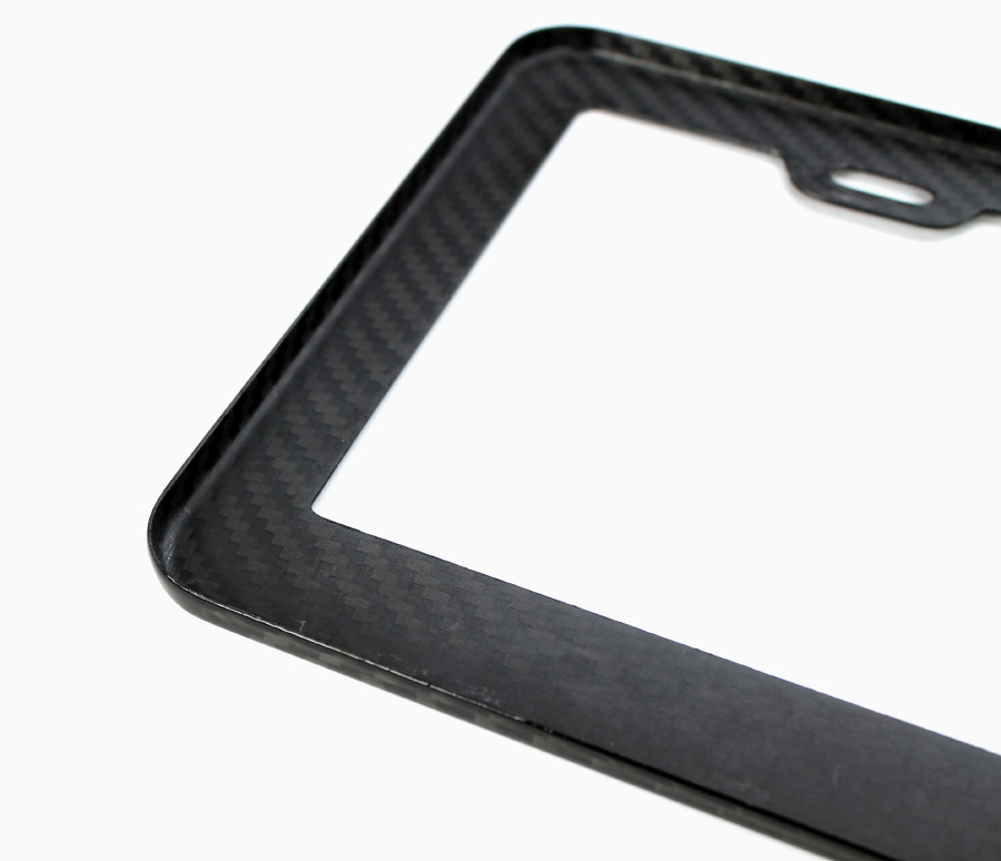 SiriMoto Carbon Fiber License Plate Frame for Toyota Camry
