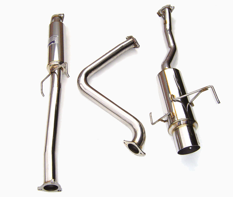 1998 Honda Prelude Parts Honda Parts: Invidia N1 Exhaust System For 2001 Honda Prelude