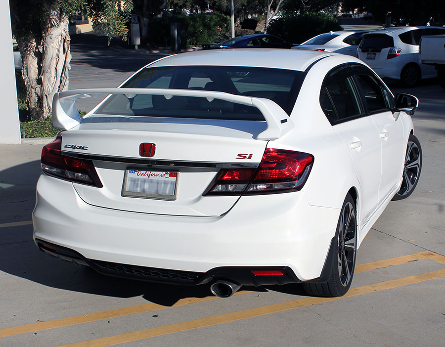 Pro Design Trm Style Spoiler Wing For 2015 2014 2013 2012 Honda Civic