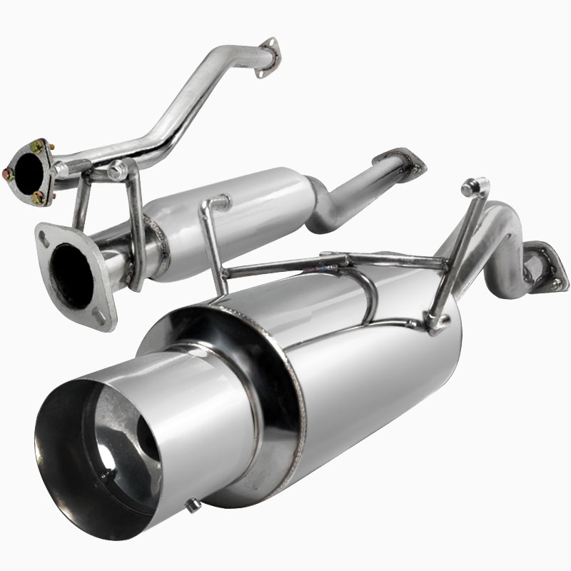 pro design stainless steel exhaust system for 2003 honda civic