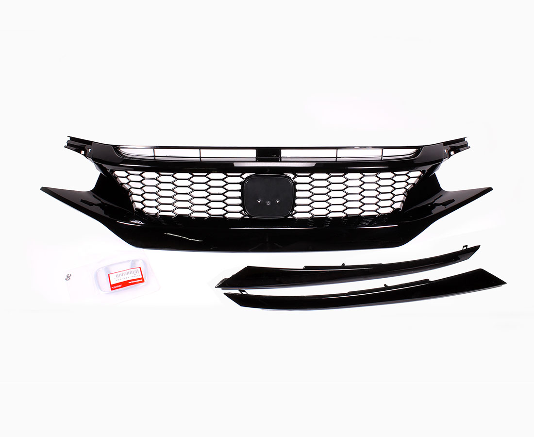 Pro Design Honeycomb Performance Mesh Grille For 2017