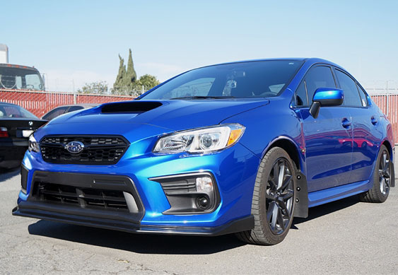 Subaru Brz Sti Price >> PRO Design CS Style Front Lip for 2018 Subaru WRX STI