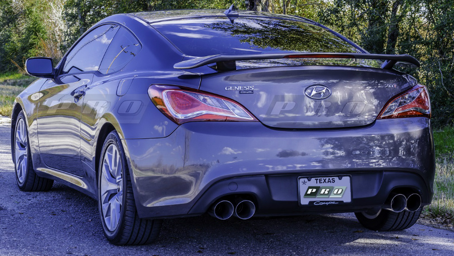 MagnaFlow Performance Exhaust System For 2013 Hyundai Genesis. Larger Image