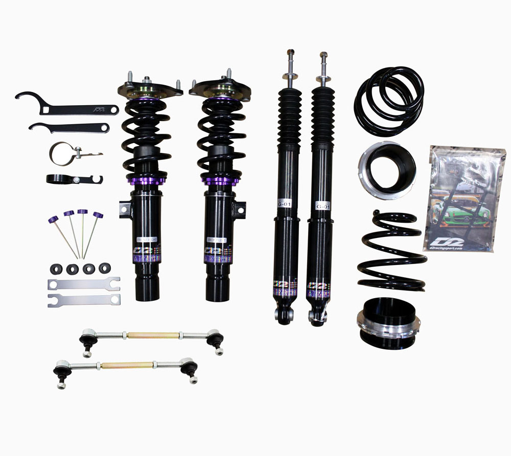 D2 Racing RS Full Coilovers For 2017 Honda Civic