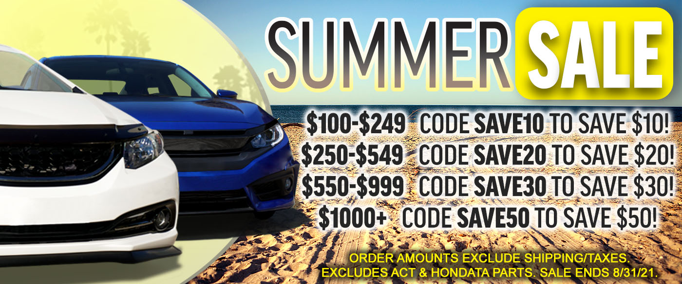 PRO Import Tuners.com - Summer Sale